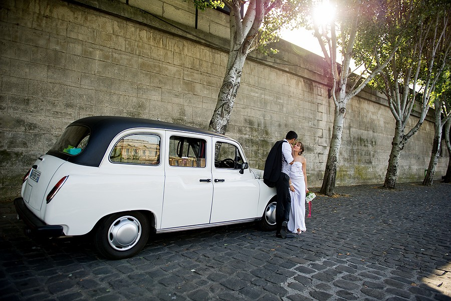 Pouya and Nicola | A wedding in Paris