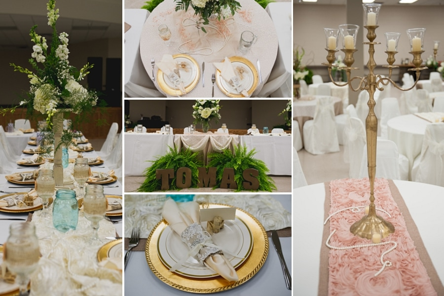 Shabby chic country wedding | Stacy and Brandon | El Campo Wedding ...