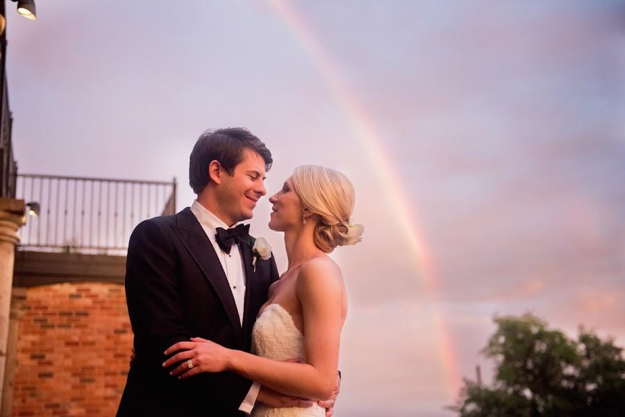 New Braunfels Wedding Photographer | Old San Francisco Steak House | Shauna and Travis | Rain and Rainbows