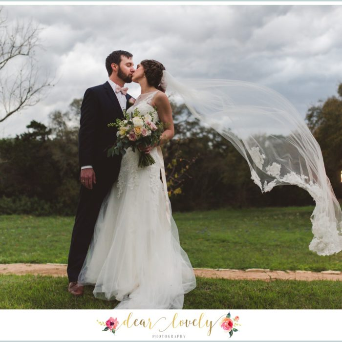Stormy Garden Wedding | New Braunfels Wedding Photography